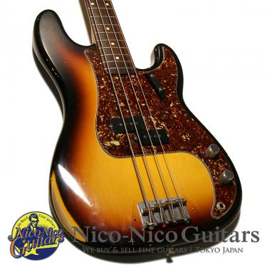 Fender Custom Shop 2005 1963 Precision Bass Relic (Sunburst)