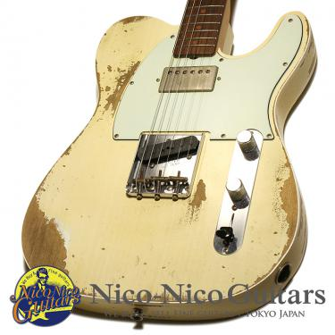 Fender Custom Shop 2017 60's Super Faded Aged Telecaster Custom Heavy Relic (Super Faded Aged Olympic White)