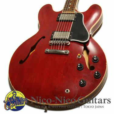 Gibson Custom Shop Lee Ritenour ES-335 Signed Aged (Cherry)