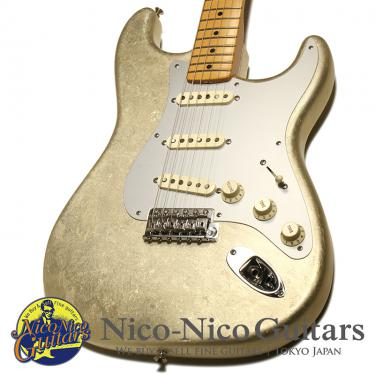 Fender Custom Shop 2005 MBS Master Salute Stratocaster Master Built by John English (White Gold Leaf)