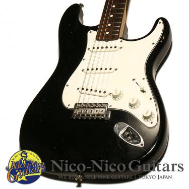 Fender Custom Shop 2012 MBS 1960 Stratocaster Closet Classic Master Built by Dennis Galuszka (Black)