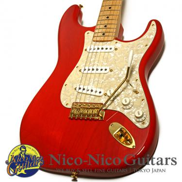 Fender Made in Japan 2017 MAMI Stratocaster (Custom Red)