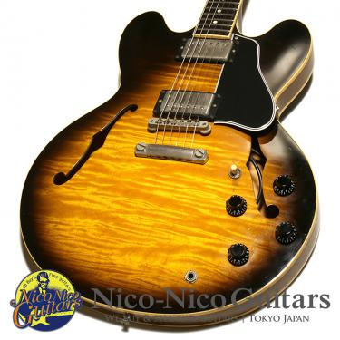 Gibson USA 1998 ES-335 Dot Reissue Figured (Sunburst)