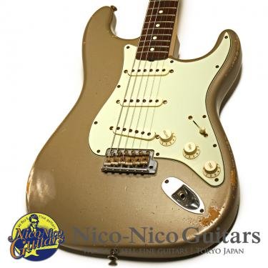 Fender Custom Shop 2009 1960 Stratocaster Heavy Relic (Shoreline Gold)