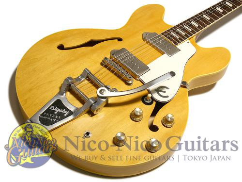 Epiphone 2000s Revo Casino Japan Limited Bigsby Mod (Natural)