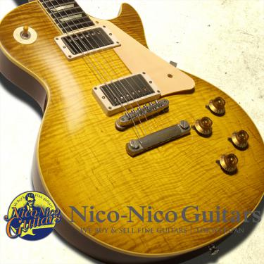 Gibson Custom Shop 2014 Historic Makeover RDS 1959 Les Paul Reissue BZF Aged (Skynard Burst)