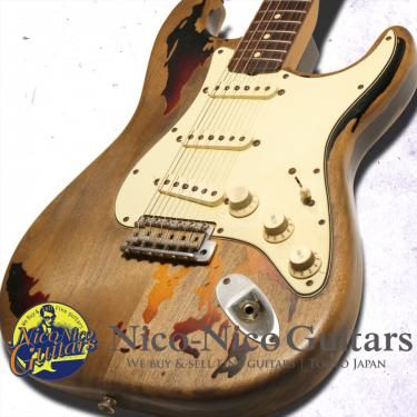 Fender Custom Shop 2004 Rory Gallagher Stratocaster (Sunburst)