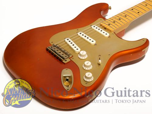 Fender Cusrom Shop 2013 '56 Stratocaster Relic (Candy Tangerine)