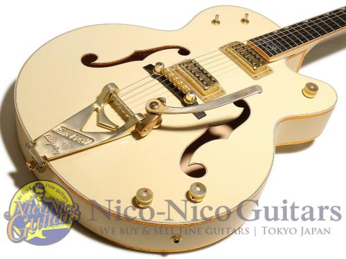 Gretsch 2012 G6136-1958 Stephen Stills Signature White Falcon (Aged White)