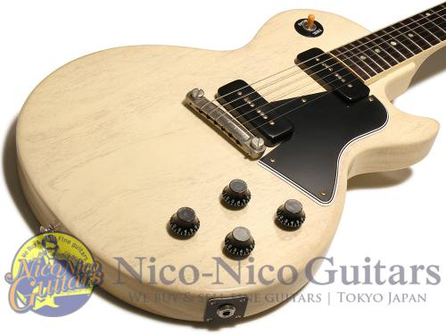 Ginson Custom Shop 2013 Historic 1960 Les Paul Special SC VOS (TV White)