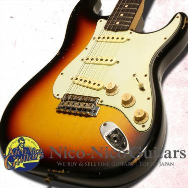 Fender Custom Shop 2013 MBS 1961 Stratocaster Relic Master Built by Jason Smith (Sunburst)