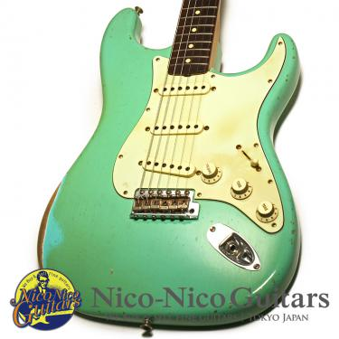 Fender Custom Shop 2018 MBS 1962 Stratocaster Relic Master Built by John Cruz (Sea Foam Green)