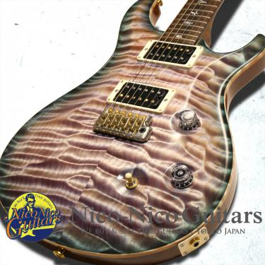 PRS 2015 Private Stock #5757 Custom24 (Faded Aqua Violet Smoke Burst)