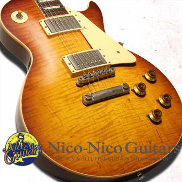 Gibson Custom Shop 2015 Historic Select 1959  Les Paul Aged Hand Selected (Slow Ice Tea Fade)