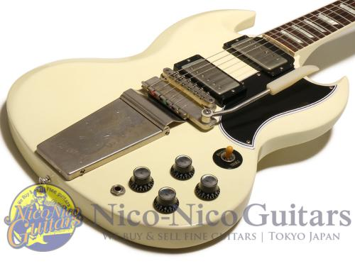 Gibson Custom Shop 2012 Historic SG Standard VOS Maestro (White)