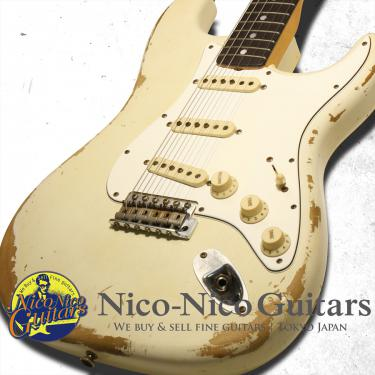 Fender Custom Shop 2016 '67 Stratocaster Heavy Relic (Aged Olympic White)