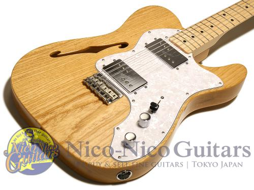 Fender Mexico 2015 Classic Series '72 Telecaster Thinline (Natural/M)