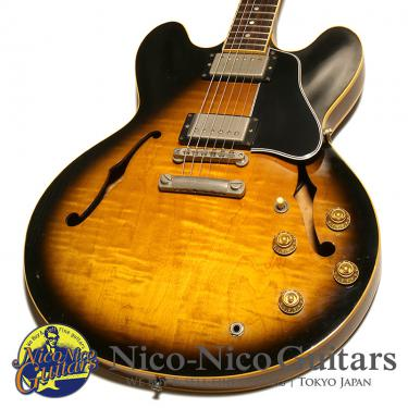 Gibson 1997 ES-335 Dot Reissue Figured (Vintage Sunburst)