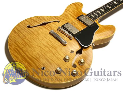 Gibson Memphis 2016 Historic Series 1963 ES-335TD Figured VOS Hand Selected (Vintage Natural)