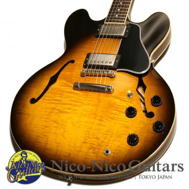 Gibson USA 1995 ES-335 Dot Reissue Figured (Vintage Sunburst)