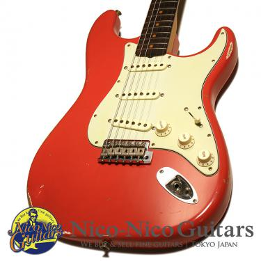 Fender Custom Shop 2018 1960 Stratocaster Relic (Aged Fiesta Red)