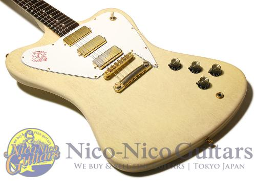 Gibson Cusotm Shop 2010 Non Reverse Firebird (TV White)