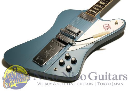 Gibson 2016 Firebird Lyre Tail Vibrola 2016 Limited (Faded Pelham Blue)