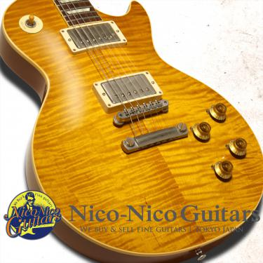 Gibson Custom Shop 2016 Historic Select 1959 Les Paul Vintage Gloss Hand Selected w/Glover (Dirty Lemon Fade)