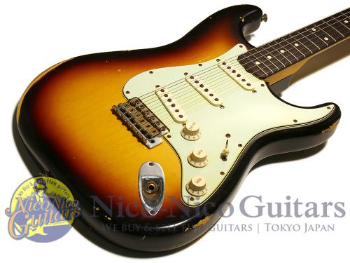 Fender Custom Shop 2014 '60 Stratocaster Relic (Sunburst)