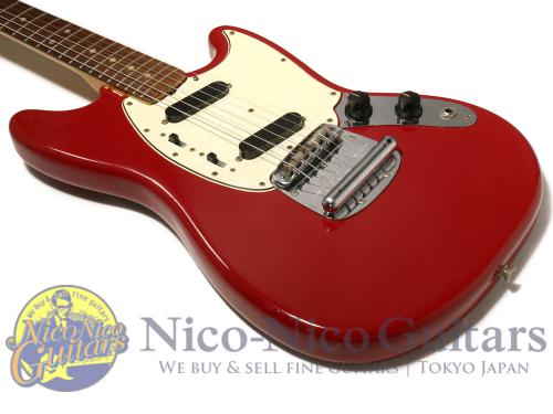 Fender 1966 Mustang (Red)