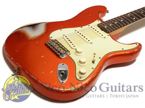 Fender Custom Shop 2008 Masterbuilt '60 Stratocaster Relic by Jason Smith (Candy Tangerine/Sunburst)