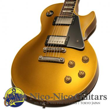 Gibson Custom Shop 2004 Historic Collection 1957 Les Paul Reissue Black Parts Stinger Head (Gold)
