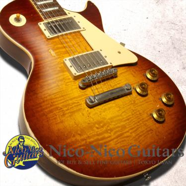 Gibson Custom Shop 2016 Historic Select 1958 Les Paul Aged Hand Selected (Faded Bourbon Burst)