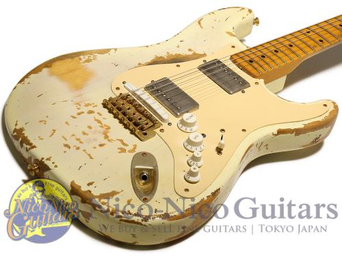 Fender Custom Shop 2008 Masterbuilt '56 Stratocaster Heavy Relic V Guitar by Jason Smith (Blonde)