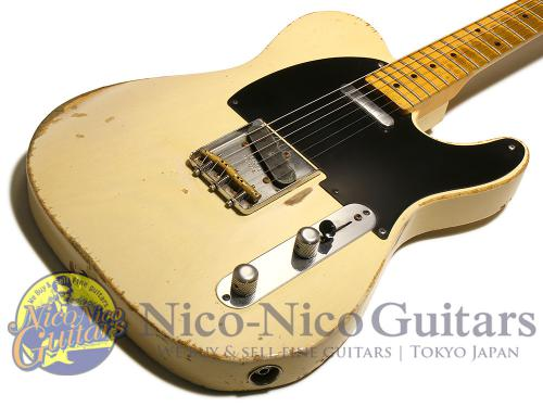 Fender Custom Shop 2010 '54 Telecaster Heavy Relic (White Blonde)
