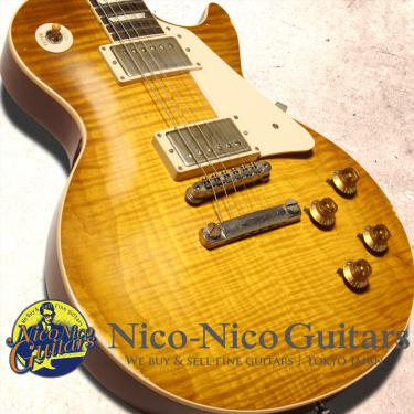Gibson Custom Shop 2014 Historic 1959 Les Paul Heavily Aged (Green Lemon)