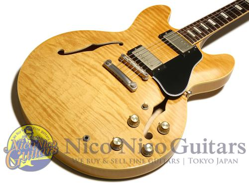 Gibson Memphis 2016 Historic Series1963 ES-335TD Figured VOS (Vintage Natural)