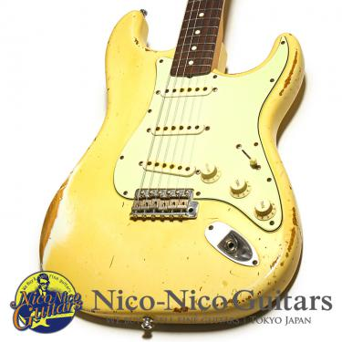Fender Custom Shop 2012 MBS 1961 Stratocaster Relic Master Built by John Cruz (White)