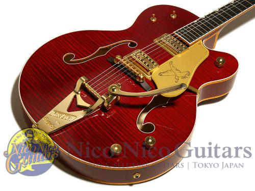 Gretsch 2016 G6136T-DCHFL-LTD16 Falcon (Deep Cherry Stain)