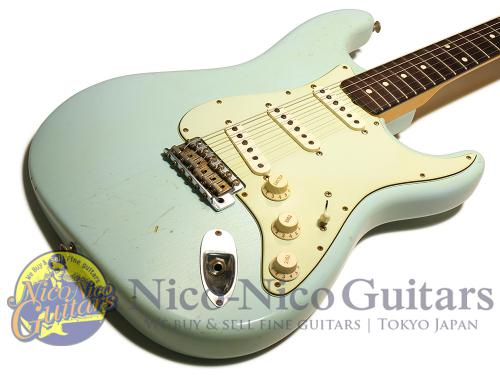 Fender Custom Shop 2012 '60 Stratocaster Relic (Sonic Blue)