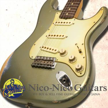 Fender Custom Shop 2013 Masterbuilt '61 Stratocaster Relic by John Cruz (Ice Blue Metallic)