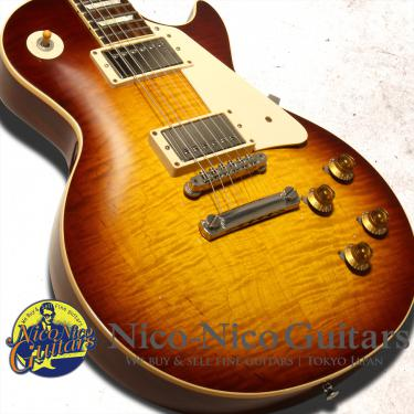 Gibson Custom Shop 2013  Historic 1959 Les Paul Gloss (Aged Dark Cherry Sunburst)