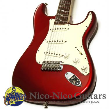 Fender Custom Shop 2004 MBS 1971 Stratocaster NOS Master Built by Jason Davis (Candy Apple Red/Rosewood)