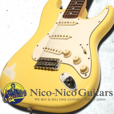 Fender Custom Shop 2009 Masterbuilt '74 Stratocaster Relic by Todd Krause (White)