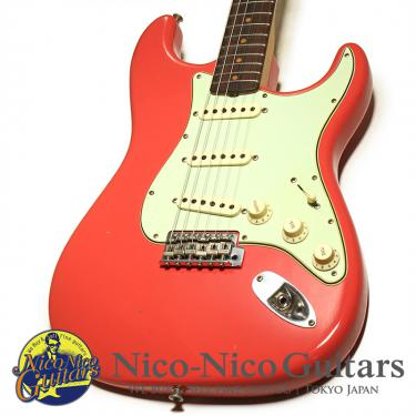 Fender Custom Shop 2018 1962 Stratocaster Journeyman Relic (Faded Fiesta Red)