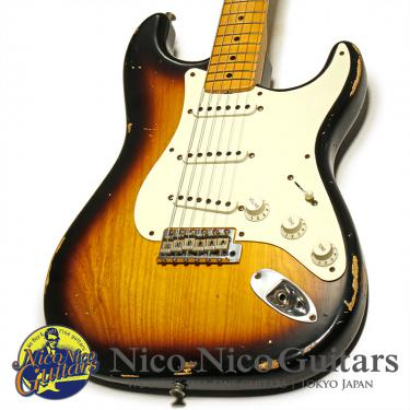 Fender Custom Shop 2014 1955 Stratocaster Relic (Sunburst)