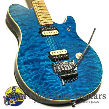 Music Man 1994 EVH Signature QMT (Blue)