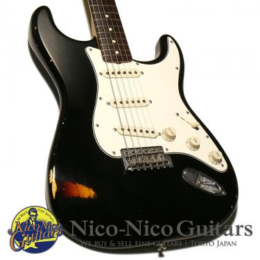 Fender Custom Shop 2007 MBS 1965 Stratocaster Relic Master Built by Todd Krause (Black/Sunburst)