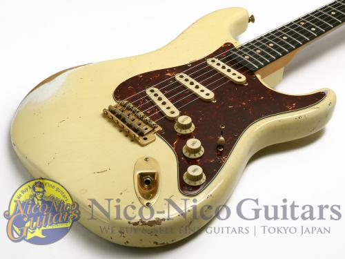 Fender Custom Shop 2007 Masterbuilt '63 Stratocaster Heavy Relic by John Cruz (White)