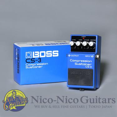 Shin's Music Boss CS-3 Compression Sustainer Mod